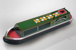 boat shaped coffin